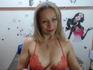 valeria-sexy blonde mature cam girl and her wet little pussy, live on webcam