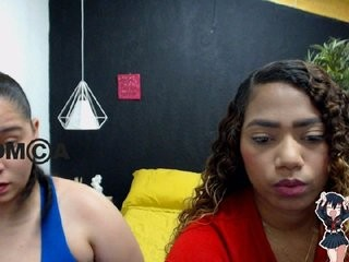 leishaandgray young cam girl couple doing everything you ask them in a sex chat