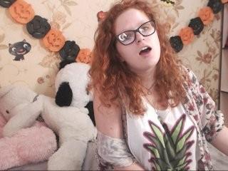 sofiryan redhead teen being naughty and seductive on a live webcam