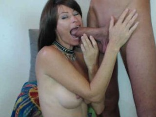 john1andaby doing the sexiest things in her private chat room
