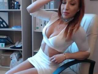 cristinabella young cam girl doing it solo, pleasuring her little pussy live on webcam