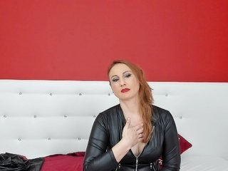 clarajasun redhead being naughty and seductive on a live webcam