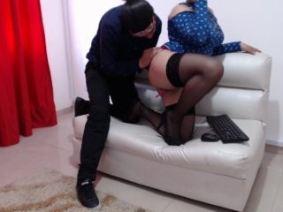candelaamia1 redhead being naughty and seductive on a live webcam