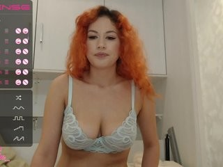 princess-dia redhead young cam girl being naughty and seductive on a live webcam