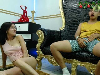 hillandjack young cam girl couple doing everything you ask them in a sex chat