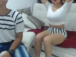 kathyleandro teen couple doing everything you ask them in a sex chat