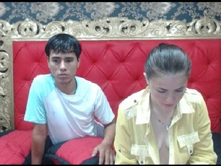melindandglen teen couple doing everything you ask them in a sex chat