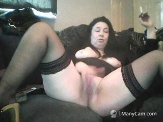 jendot doing it solo, pleasuring her little pussy live on webcam