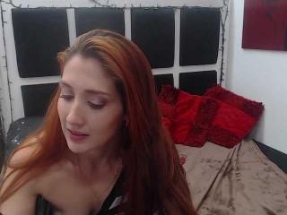 katyaivanov redhead being naughty and seductive on a live webcam