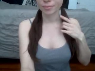 tinyytina naughty pleasuring her lovely little pussy on webcam