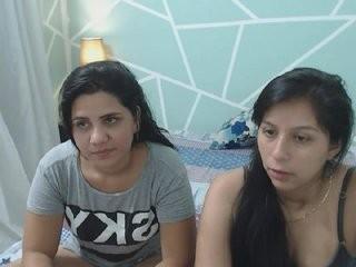 couplelesbian Latino young cam girl slut masturbating live on a webcam