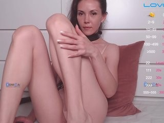 dalisal the most beautiful brunette live on sex cam