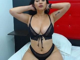 carolinars Latino slut masturbating live on a webcam