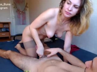 inna_buns milf cam girl couple doing everything you ask them in a sex chat