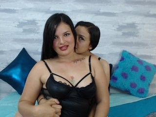 alexandchrist young cam girl couple doing everything you ask them in a sex chat