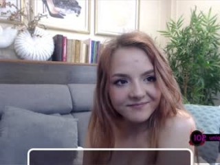 ginger_pie sexy cam girl show softcore sex via webcam