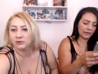 stefanny_medina BBW milf cam girl teasing her pussy live on sex cam