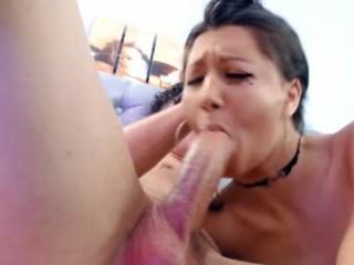 kisstarcam slut that gives the sloppiest blowjobs live on sex cam
