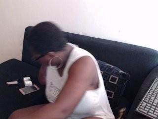 goddess4cum the hottest ebony slut masturbating live on cam