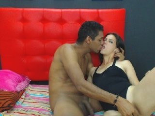 malportados couple doing everything you ask them in a sex chat