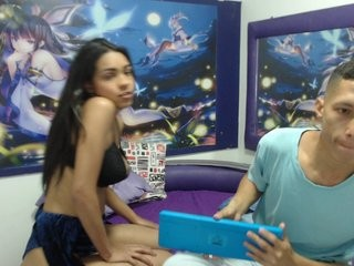 nicolycarlos teen couple doing everything you ask them in a sex chat