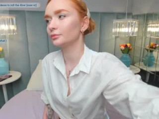 emotional__escape redhead being naughty and seductive on a live webcam