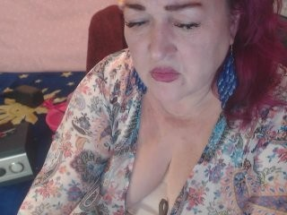 marmelana redhead mature cam girl being naughty and seductive on a live webcam