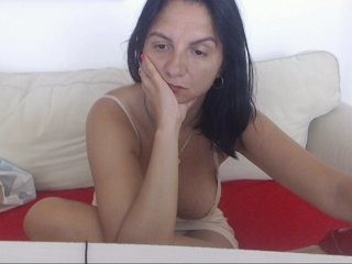 madamealexa covered in oil, looking sexy on an XXX sex cam