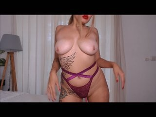 cutecarmella doing it solo, pleasuring her little pussy live on webcam