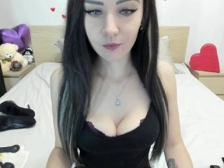 tastyanabel the most beautiful brunette young cam girl live on sex cam