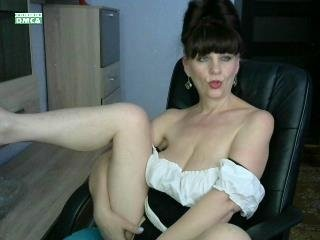 jaklina57 mature cam girl doing it solo, pleasuring her little pussy live on webcam