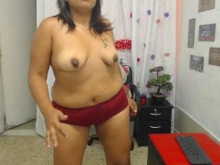 emilybbw BBW teasing her pussy live on sex cam