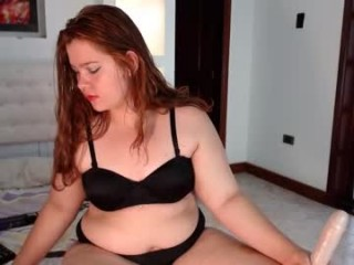 janamontaner1 BBW young cam girl teasing her pussy live on sex cam