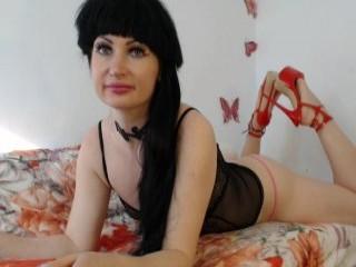 kedraluv mature cam girl in slutty stockings posing and masturbating live