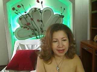 ladylucky the most beautiful brunette mature cam girl live on sex cam