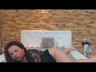 pervymonique redhead mature cam girl being naughty and seductive on a live webcam