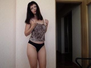murkakitti doing it solo, pleasuring her little pussy live on webcam